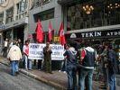 CHP İl Başkanlığı önünde eylem