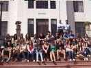 Alman öğrenciler Hatay'da
