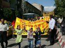 AK Parti önüne çelenk