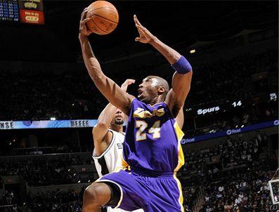 AMERIKAN PROFESYONEL BASKETBOL LIGI - Lakers Spurs'tan fark yedi