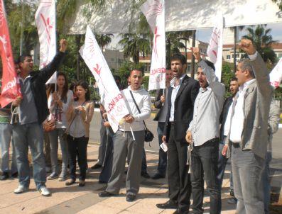 VOLTAİRE - Chp'li Gençlerden 'İfade Özgürlüğü' Eylemi