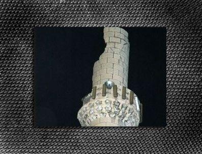 Kayseri'de Minareye Yıldırım Düştü
