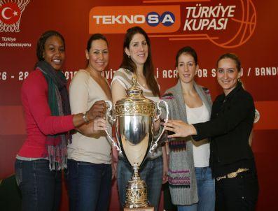 COLA TURKA - Teknosa Bayanlar Türkiye Kupası Kura Çekimi Gerçekleştirildi