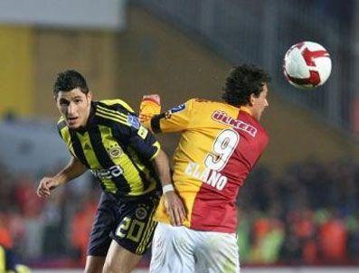 GUIZA - Fenerbahçe, Galatasaray'ı kendi evinde yine yendi