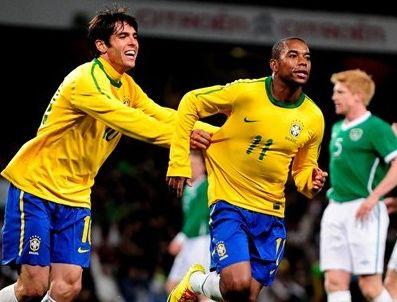 ELANO - Brezilya İrlanlanda'yı 2-0 yendi