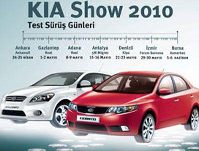 KIA'nın Anadolu turu başlıyor