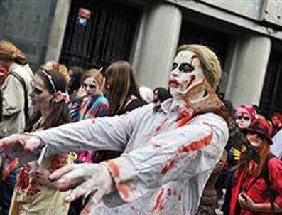 THRILLER - Amerika'da zombiler rekor için yürüdü!