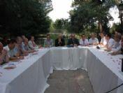 Başkan Gümrükçüoğlu Özel Avrasya Mütevelli Heyeti İle Basın Toplantısı Düzenledi