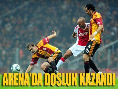D SMART - Gs Ajax Galatasaray Ajax maçı özeti (GS Ajax maç sonucu)
