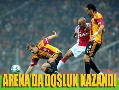 D SMART - Gs Ajax Galatasaray Ajax maçı özeti (GS Ajax maç sonucu) GS-AJAX