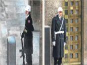 Asker yerini polise bıraktı