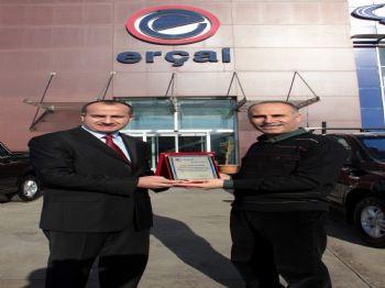 SSANGYONG - Erçal'da Araç Teslim Töreni