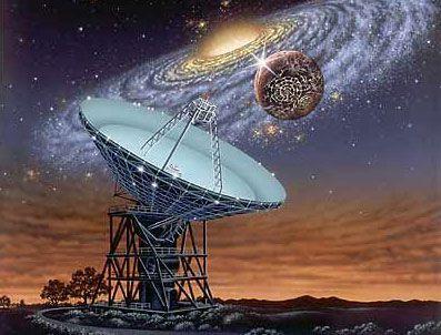 JODİE FOSTER - SETI uzaydaki tüm sesi kaydedecek