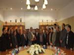 Altınekin Heyetinden Başkan Konuk'a Teşekkür Ziyareti