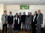 Odunpazarı Ak Parti İlçe Teşkilatı Marangozcular ve Mobilyacılar Odasını Ziyaret Ettiler