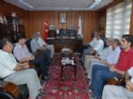 RAMAZAN SODAN - Vali Sodan'dan Başkan Büyükaslan'a Veda Ziyareti