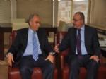 ACI KAHVE - Fakıbaba'dan Mhp'li Başkan Ergün'e Ziyaret