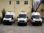 Kırşehir'e 3 Yeni Ambulans Geldi