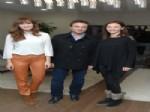 SELİN DEMİRATAR - Dizinin Başarısını Pasta Keserek Kutladılar