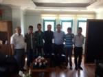MUHSİN YAVUZ - Başkan Muhsin Yavuz Gençleri Askere Uğurladı