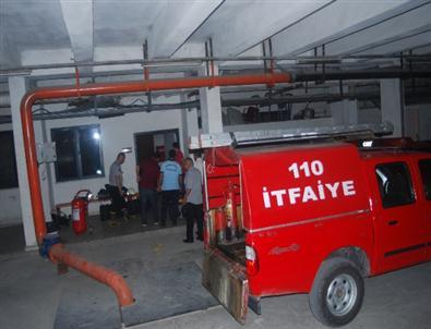 Devlet Hastanesi'nde Yangın Paniği