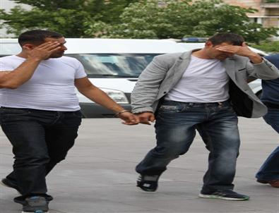 Nevşehir'de 4 Ayrı Adreste Hırsızlık Yapan Şahıslar Aksaray'da Yakalandı