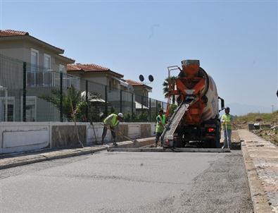 Çiğli Belediyesi Sasalı Yollarını Yenileniyor