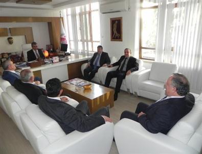 Atso Yönetiminden Başkan Tursun'a Ziyaret