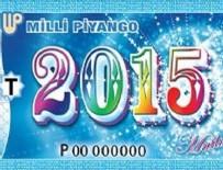 2015 Milli Piyango Yılbaşı Çekilişi