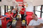 METIN GÖKTEPE - Kızılay Kaş'ta Bir Günde 50 Ünite Kan Topladı