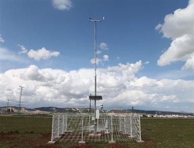 Üniversitede Otomatik Meteoroloji Gözlem İstasyonu Kuruldu