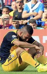 FABREGAS - Atletico Madrid'de Arda Turan ve Dıego Costa Sakatlandı
