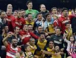 FABREGAS - Atletico Madrid şampiyon oldu