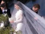 KANYE WEST - Kim Kardashian'ın gelinliği