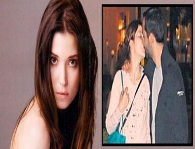 Selma Ergeç sevgilisiyle öpüşürken yakalandı
