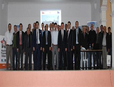 Nazilli'de Tkdk Bilgilendirme Seminerleri Devam Ediyor
