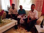 MUHSİN YAVUZ - Başkanlardan, Kormaz'a Geçmiş Olsun Ziyareti