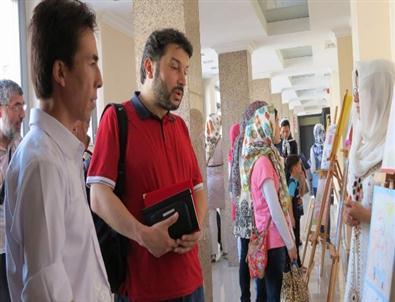 Afgan Mülteciler'den 'resim'Festivali
