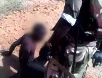 Boko Haram'a korkunç infaz