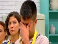 TV8 - Erkek yarışmacı gözyaşlarına boğuldu