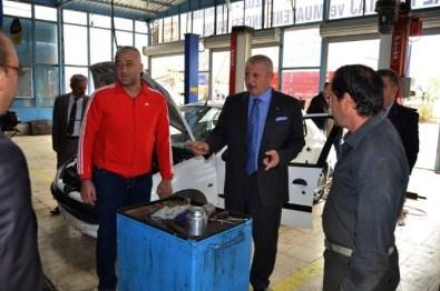 Mehmet Sarı Sanayi Esnafıyla Buluştu