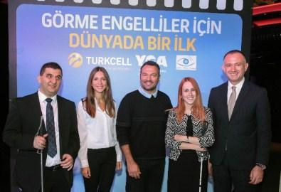 Turkcell'den Görme Engelliler İçin 'Sesli Betimleme'