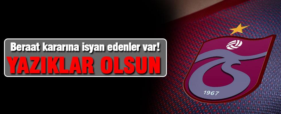 Trabzonspor'dan beraat kararına tepki