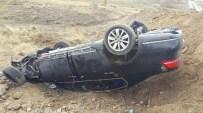 Büyükşehir Belediye Başkanının Koruma Aracı Şarampole Uçtu Açıklaması 2 Yaralı