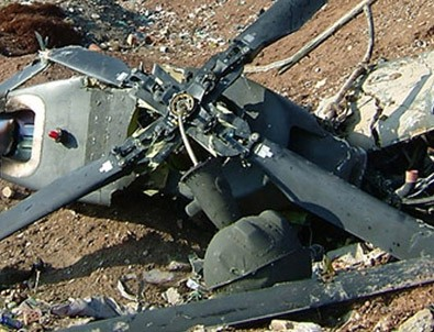Helikopter yere çakıldı: 6 Ölü