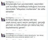 ÜMİT ÖZGÜMÜŞ - Eski CHP'li Vekilden Kılıçdaroğlu'na İstifa Çağrısı