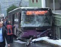 İETT - Sarıyer'de Otobüs Kazası