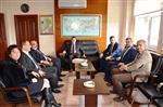 Çtso Yönetimi Eceabat'ta Ziyaretlerde Bulundu
