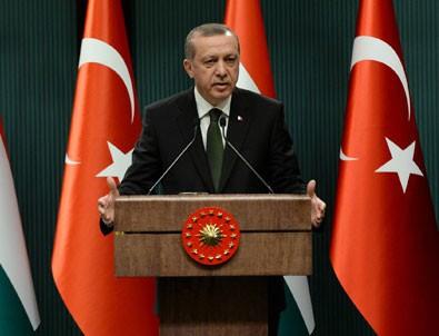 Erdoğan:  Erol Büyükburç'un ölümü düşündürücü