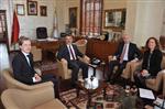 TİCARET İŞBİRLİĞİ - Hollanda Büyükelçiliği'nden Büyükşehir'e Ekonomi Ziyareti